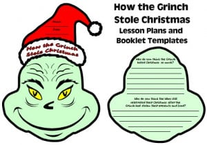How the Grinch Stole Christmas Lesson Plans Page