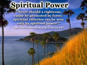 Spiritual Power - Quote of the Day - spiritual victory, spiritual ...