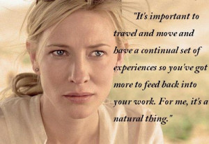 Happy Birthday Cate Blanchett: Cate's 5 Inspiring Quotes photo 4