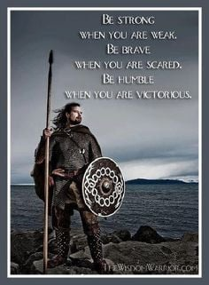Viking Quote ....Take heed Obama, stop bowing down to foreign leaders ...