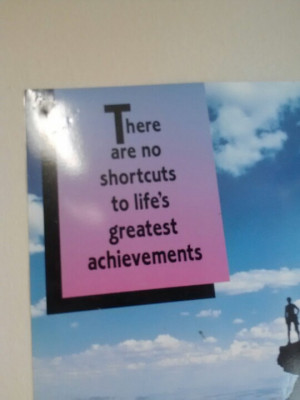 You can always achieve anything!