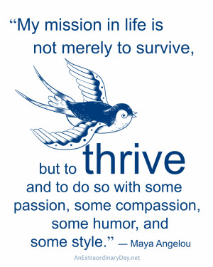 Thrive-Quote-by-Maya-Angelou-8x10-Printable-at-AnExtraordinaryDay.net ...