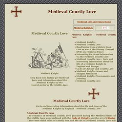 Courtly Love Medieval Times