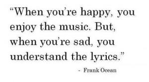Understand the lyrics
