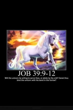Unicorns in the bible. Okay