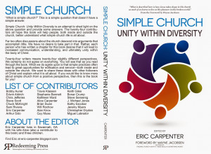 Simple Church: Unity Within Diversity Now Available For Pre-Order!