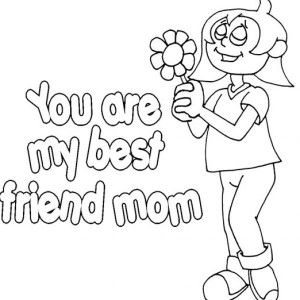 You are my best friend coloring pages pictures 3