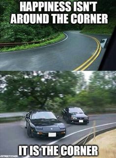 Happiness is the Corner ! #Drifter More