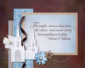... temples. These are gift ideas. You can get the San Diego temple QP in
