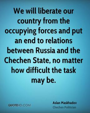 Chechen Quotes