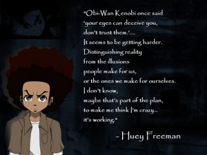 huey boondocks quotes