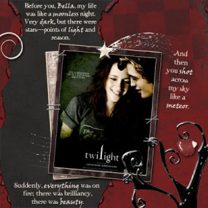 Edward and bella quotes wallpapers