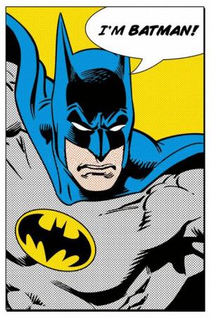 Batman - I'm Batman Comic Quote