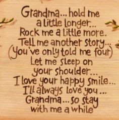 New grandma quotes quotesgram for What to get grandma for mother s day