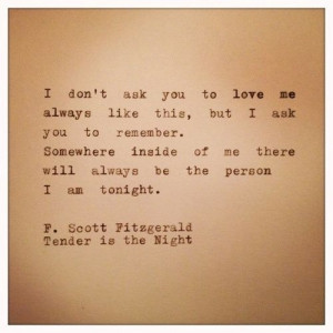 12 Quotes That Make You Wish F.Scott Fitzgerald Would Write You A Love ...