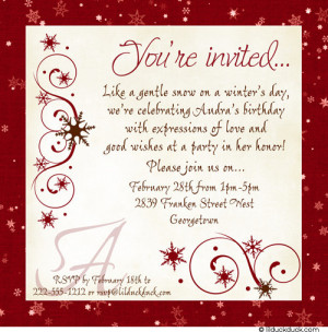 ... Trunk Party invitations and For A Trunk Party announcements page