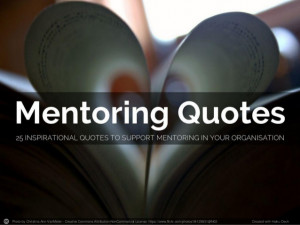 Quotes On Mentoring