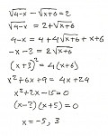 solving equations w/ radicals and exponents problem, stuck-scan0007 ...