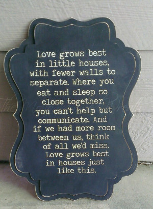 Love+grows+best+in+little+houses+24x17+by+TheMonogrammedWreath,+$45.00
