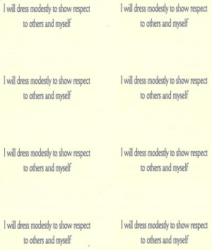 Modesty Quotes Modesty measurement card