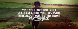 Dont Want You Back