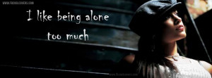 Sad Cover Picture, Lonely Quotes FB Cover
