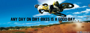 Dirt Bikes Facebook Cover
