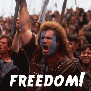Mel Gibson Braveheart Freedom