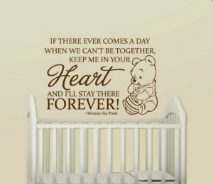 Winnie the Pooh Love and Life Quotes and Sayings Removable Wall ...