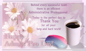 Show Your Appreciation for Your Administrative Professionals By Making ...