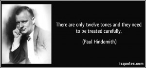 More Paul Hindemith Quotes