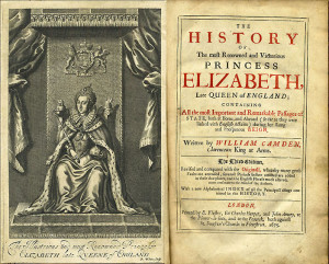 The frontispiece and title page from the 1675 edition of The Annals ...