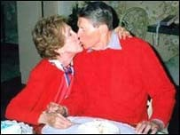 Ronald Reagan is suffering the advanced stages of Alzheimer's disease