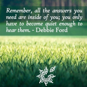 RIP Debbie Ford. Your spirit will live on in many people...