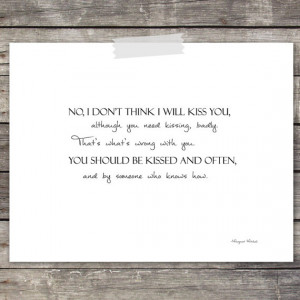 Rhett Butler Gone with the Wind Quote Paper Print with Scarlett O'Hara ...