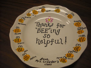 Thank you gift for parent volunteers….this would be great for a ...