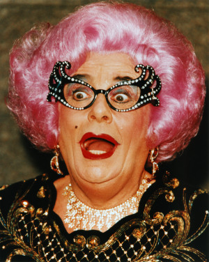 More Dame Edna Everage images: