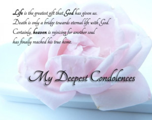 Deepest Sympathy Quotes Condolences Images
