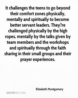 Elizabeth Montgomery Faith Quotes