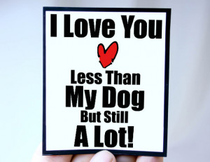 Dog Lover Quotes Funny Dog lover quote magnet quote: