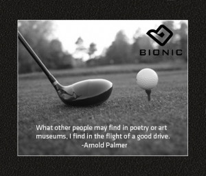 Golf Quote - Arnold Palmer