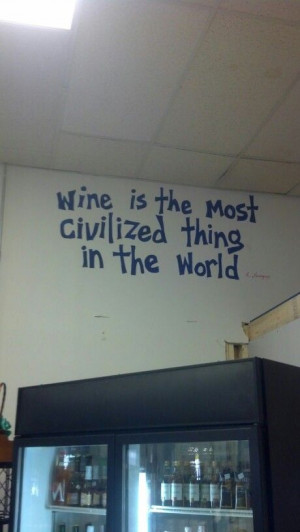 At a wine/cheese shop in Virginia.