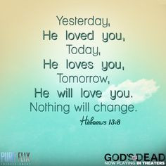 Back > Quotes For > Bible Verses About Gods Love For You