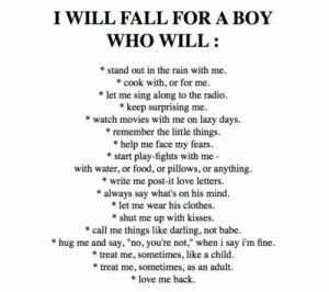 boy, fall for, fall in love, gay, list, love, quote