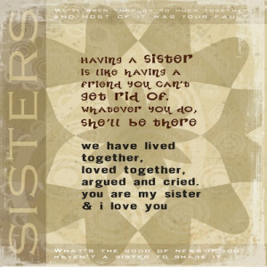 Quotes About Sister Bond Bond Quotes About Sister