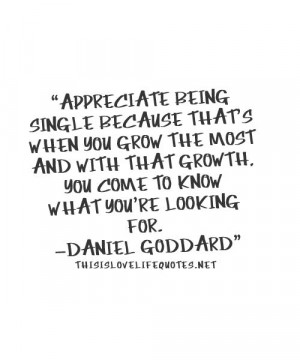 Quotes About Being Single...