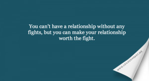 Fighting In Relationships