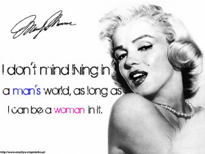 Marilyn Monroe Quote (19)