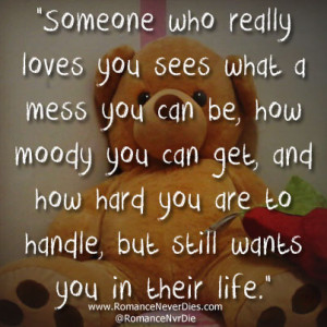 Someone Who Really Loves You