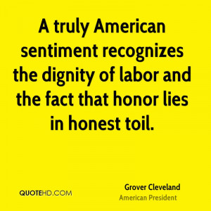 Grover Cleveland History Quotes